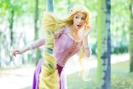 Rapunzel, by clefchan