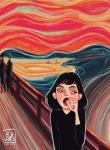 """O Bocejo"" de Edvard Munch"