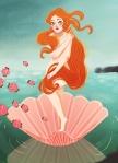 """""""O Nascimento de Vênus"""" de Botticelli"""